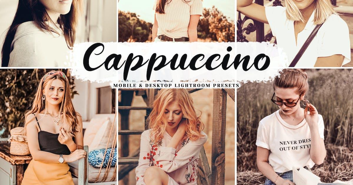 Download Cappuccino Mobile & Desktop Lightroom Presets by creativetacos