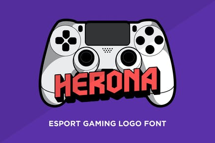Herona - Esport Logo Font