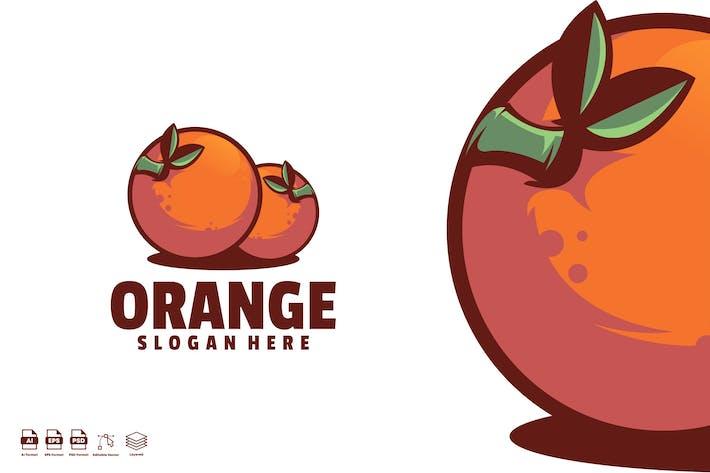 Thumbnail for orange logo template