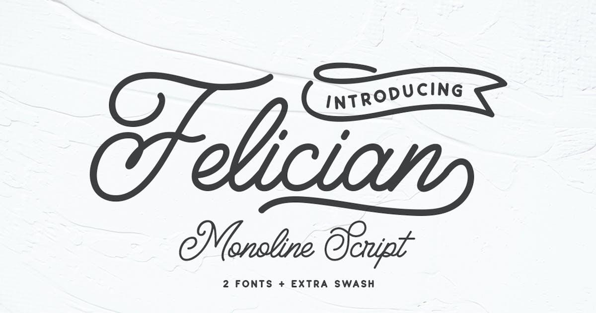 Download Felician Monoline Script by weapedesign