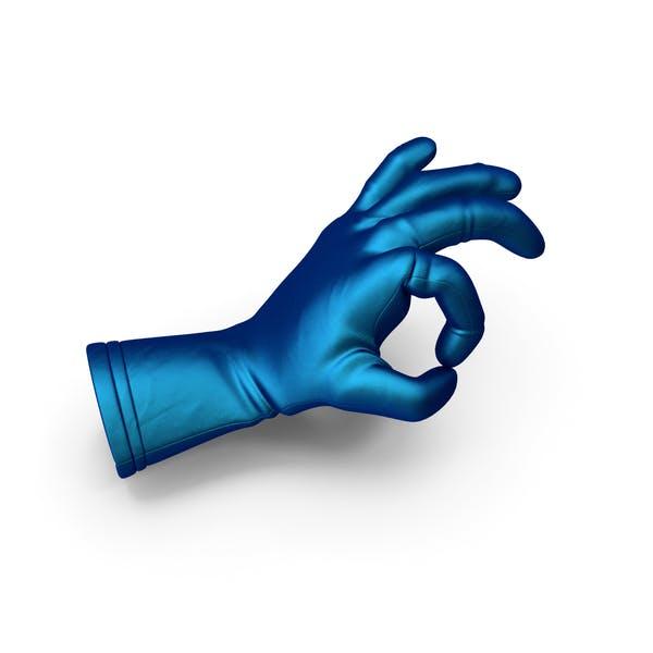 Silk Glove OK Gesture