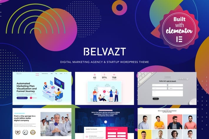 Thumbnail for Belvazt - Digital Marketing Agentur WordPress Thema