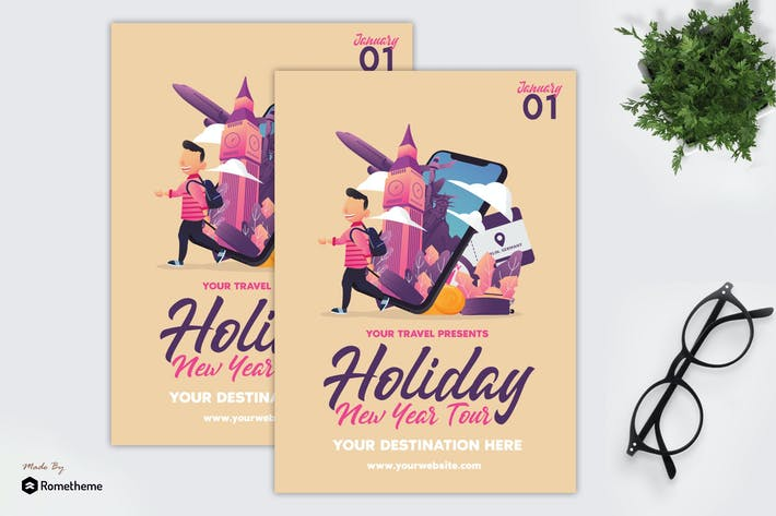 Thumbnail for Holiday New Year Tour - Flyer GR