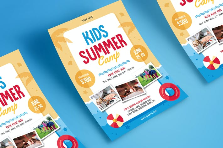 Thumbnail for Kids Summer Camp Flyer 04