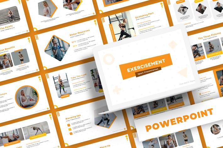 Exercisement - Powerpoint Template