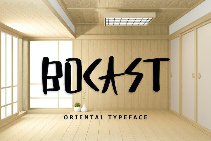 Thumbnail for Fuente de visualización estilo de Japón Bocast