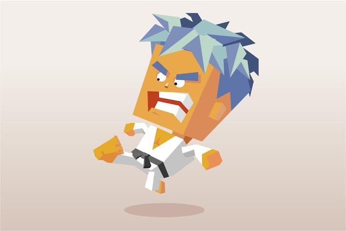 Thumbnail for karate kick