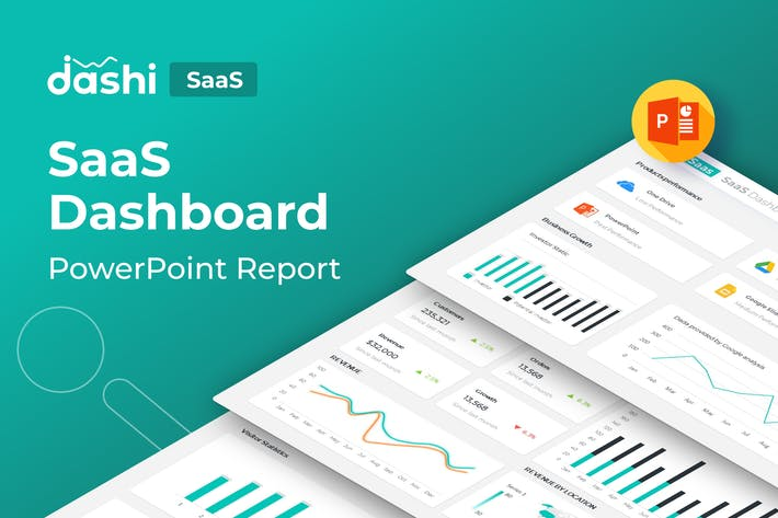 Thumbnail for Dashi SaaS |SaaS Dashboard Report Presentation