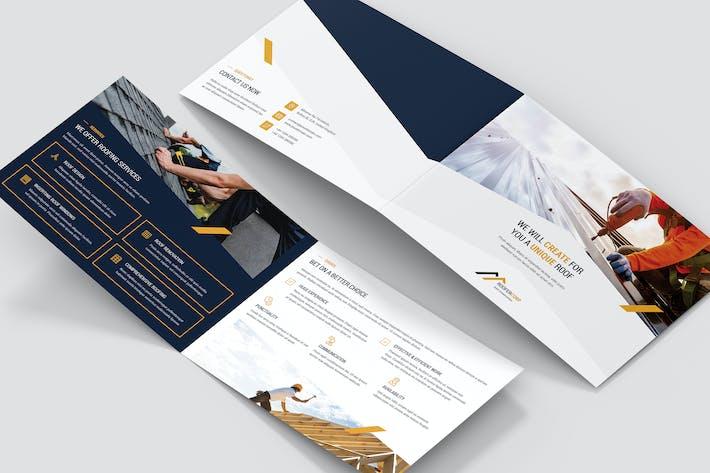 Thumbnail for Brochure – Roofer Bi-Fold A5 Landscape