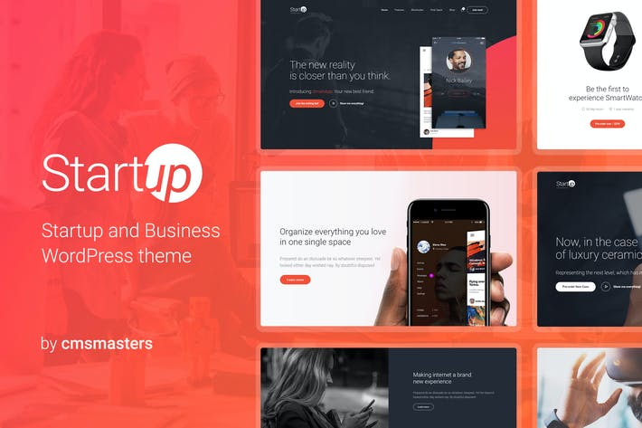 Cover Image For Startup Company - Business & Technology WP Theme