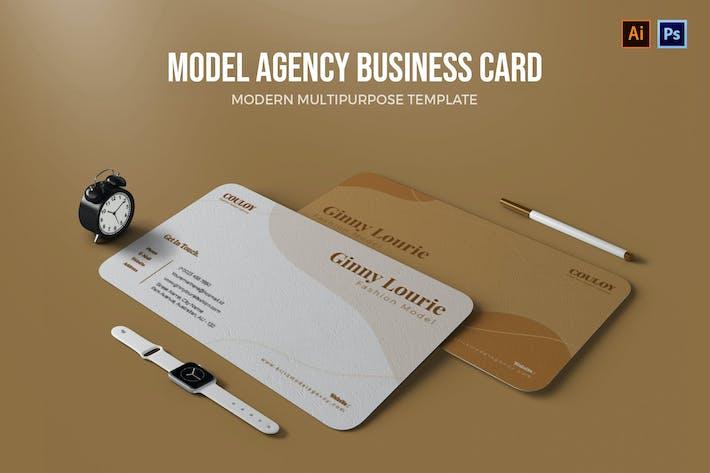 Thumbnail for ModelAgentur - Visitenkarte