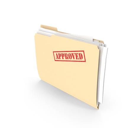 Approved Folder Vertical