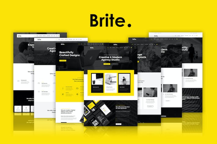 Thumbnail for Brite | Responsive MultiPurpose HTML5 Template