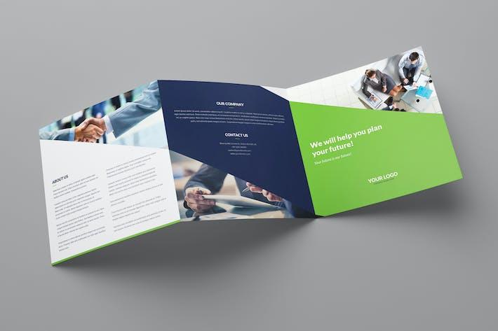 Thumbnail for Brochure – Company Tri-Fold Square