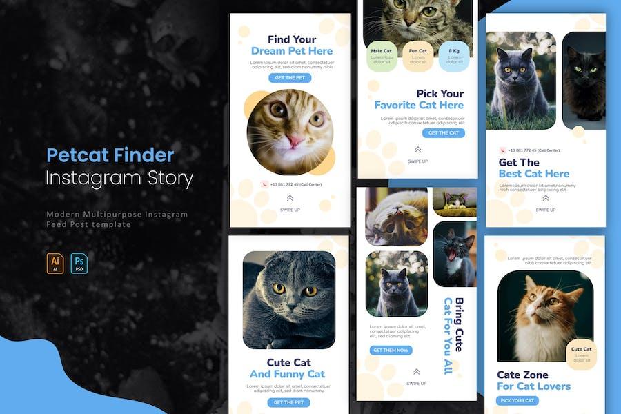 Petcat Finder | Instagram Story