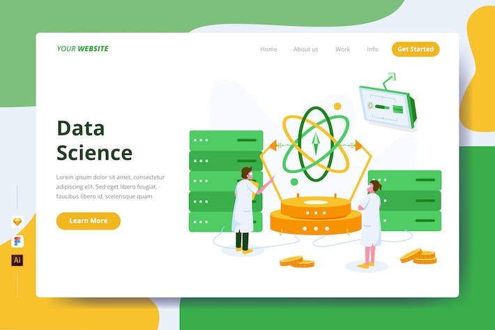 Data Science — Zielseite