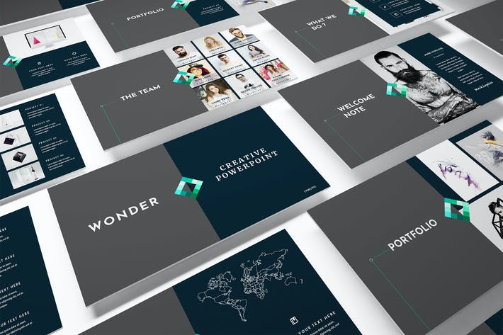 Creative Powerpoint Template By Incools On Envato Elements