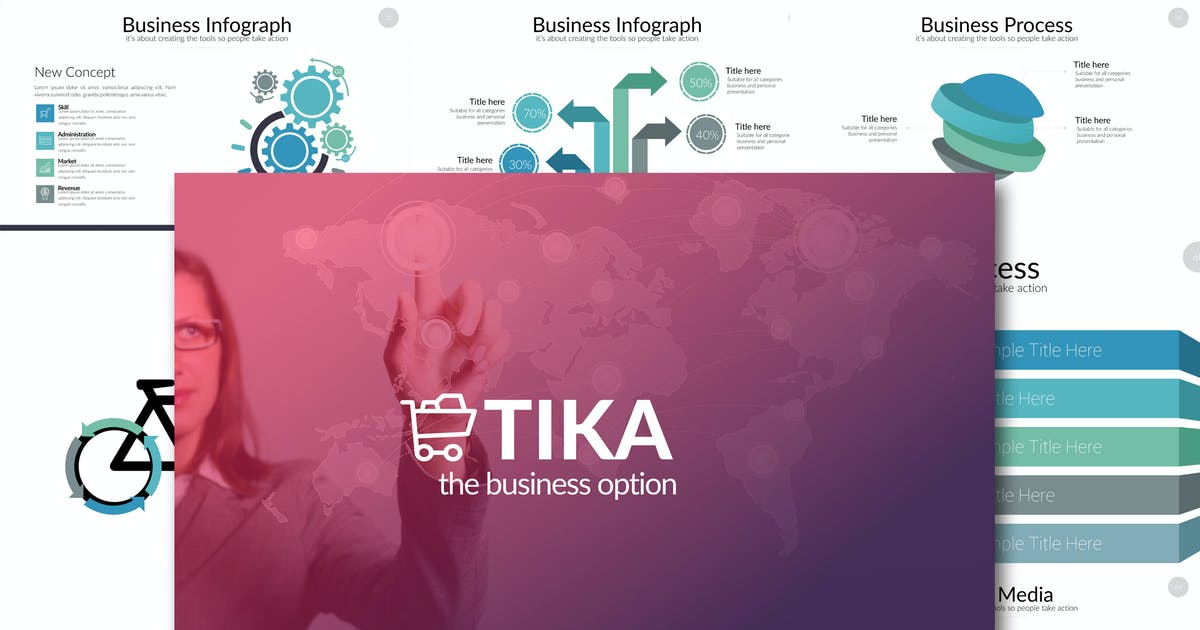 TIKA Powerpoint Template by Unknow