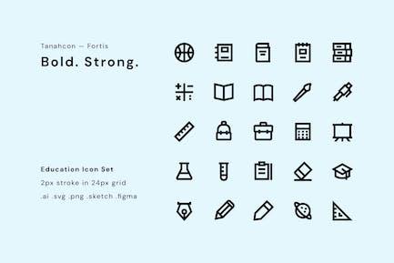 UI Icon Set - Education