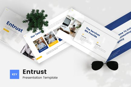 Entrust - Tax Accounting Keynote Template