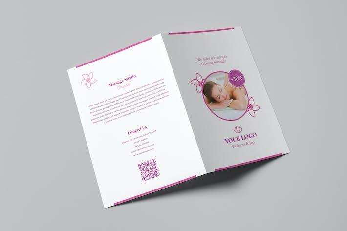 Thumbnail for Brochure – Wellness and Spa Bi-Fold