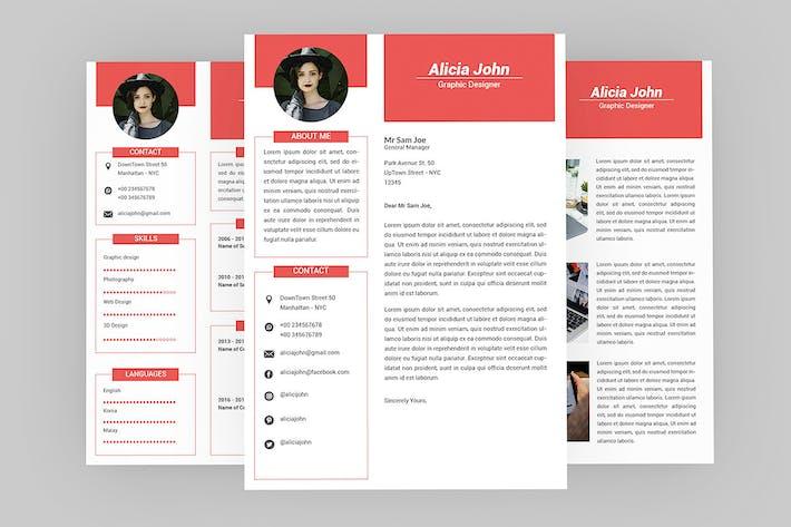 Thumbnail for Minimalist Resume Designer