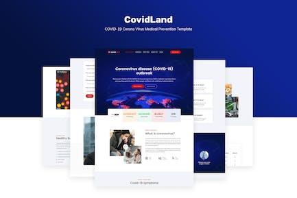 CovidLand | COVID-19 Vorlage für medizinische Prävention