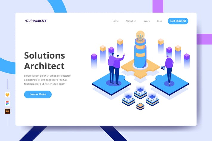 Thumbnail for Solutions Architect - Landing Page