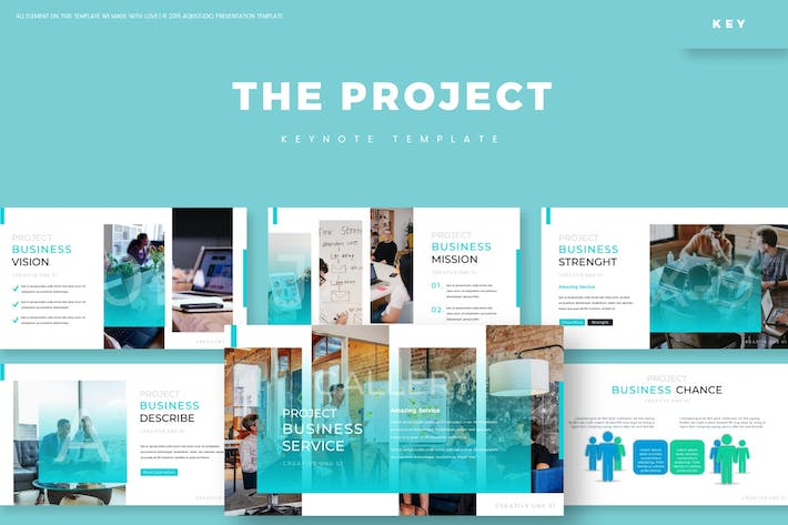 Thumbnail for The Project - Keynote Template