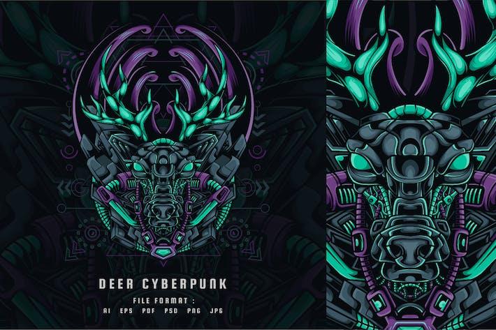 Deer Cyberpunk