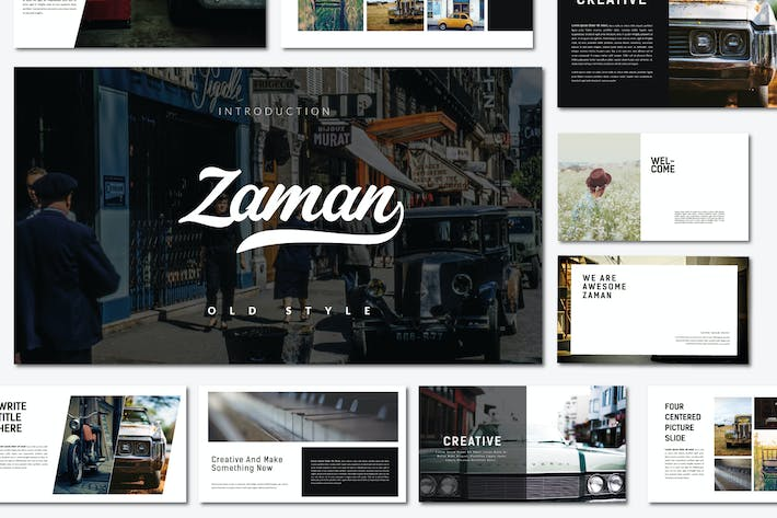 Thumbnail for Zaman | Keynote Templates