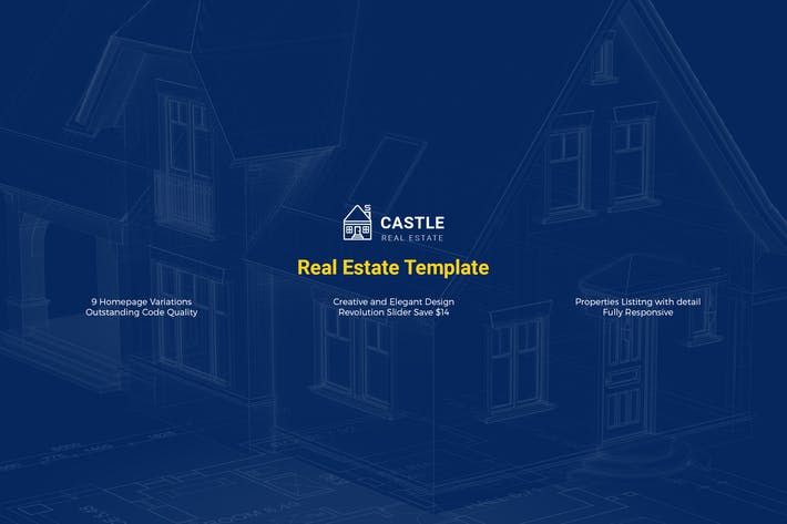 Thumbnail for Castle - Real Estate Template