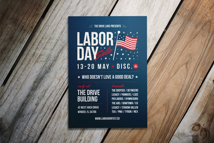 Thumbnail for Labor Day Sale Flyer