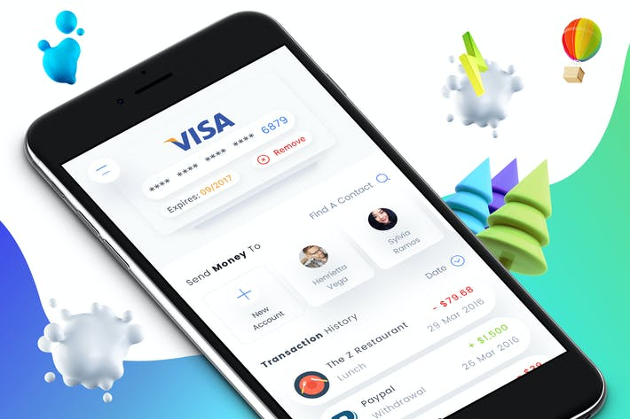 Thumbnail for Wallet 2 Mobile Ui - M
