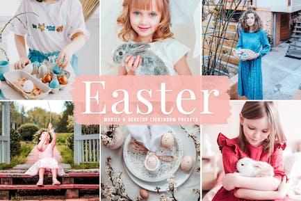 Easter Mobile & Desktop Lightroom Presets