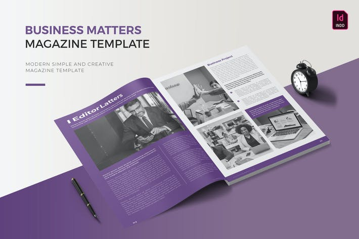 Business Matters | Magazine Temmplate