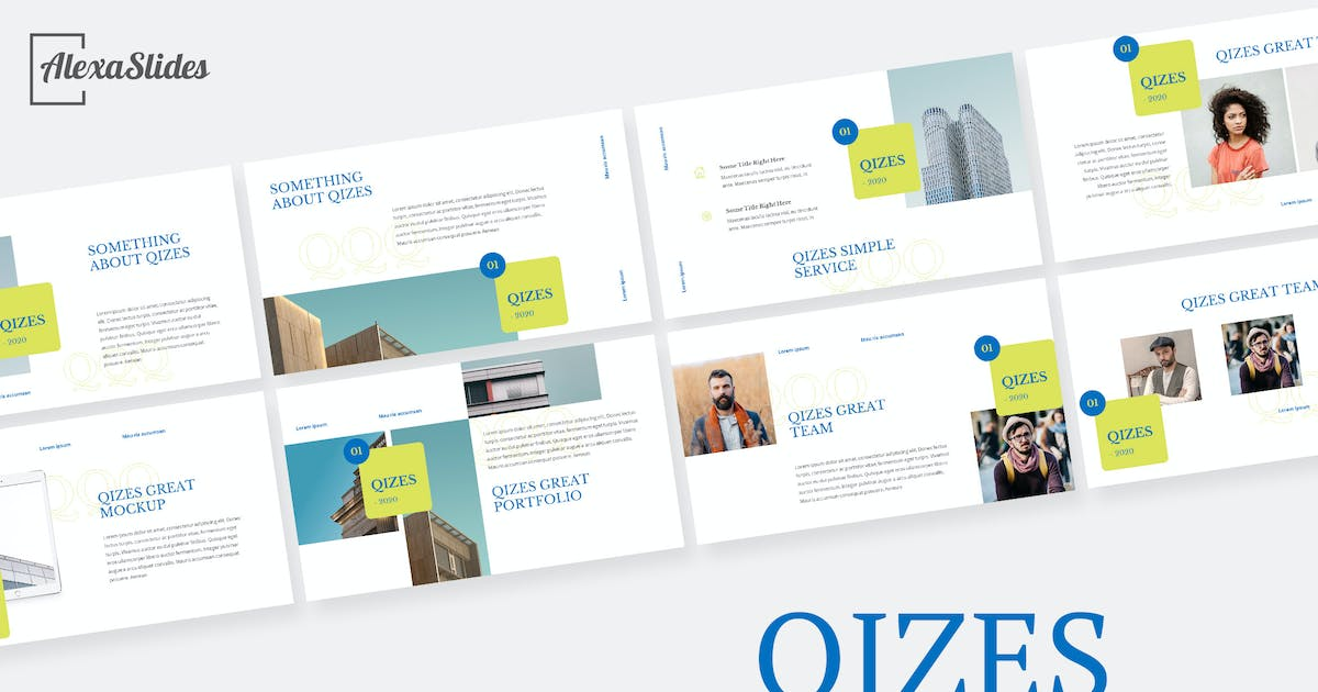 Download Qizes - Creative Powerpoint Template by alexacrib