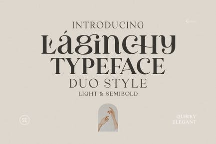 Laginchy - Quirky Serif (Light & SemiBold)
