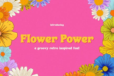 Flower Power Font