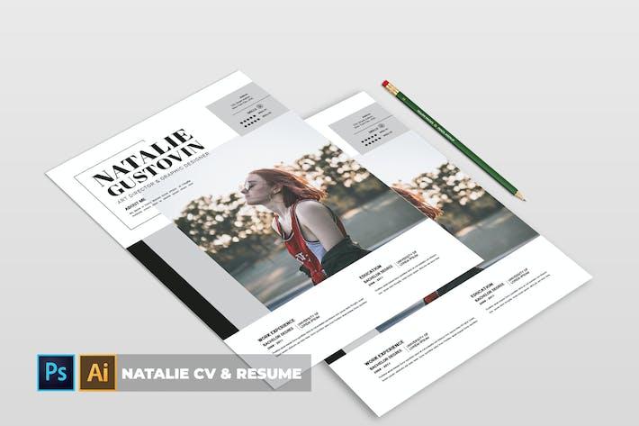 Thumbnail for Natalie | CV & Resume