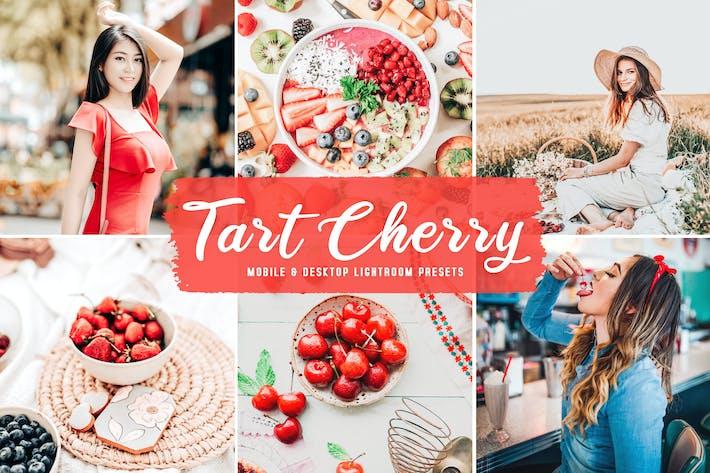 Tart Cherry для мобильных и настольных Пресеты Lightroom