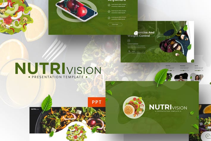 Thumbnail for Nutrivision - Powerpoint Template