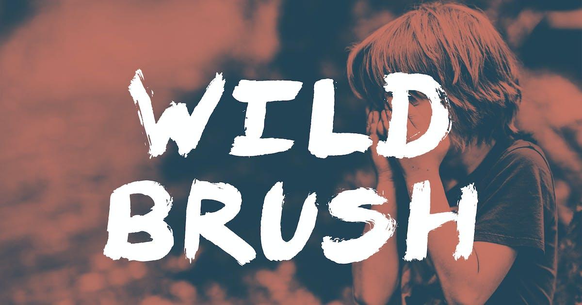 Download Wild Brush Font by ghostlypixels