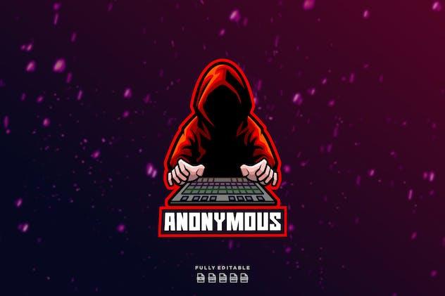 Hacker Anonymous  Logo