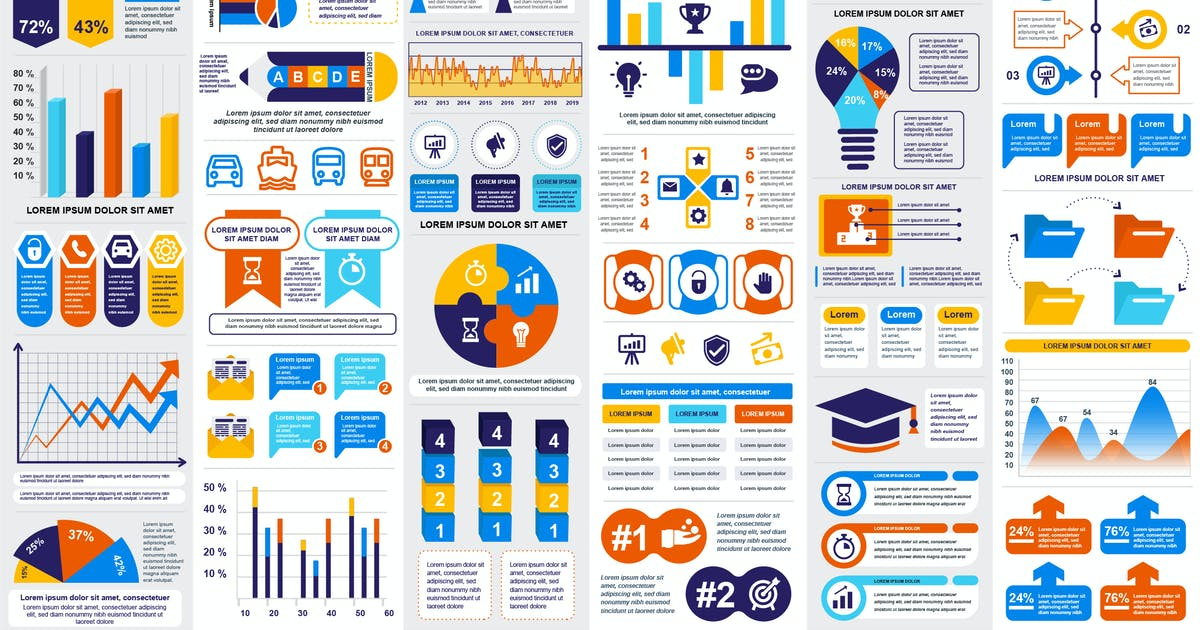 Download Infographics Vector Design Template Info Graphics by alexdndz