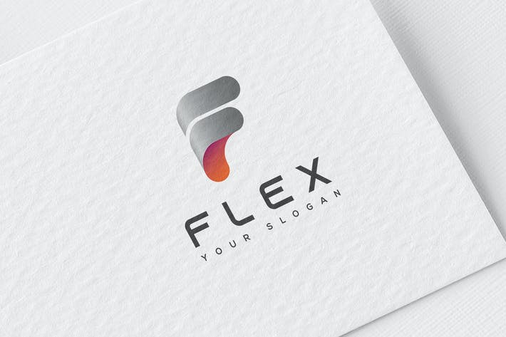 Thumbnail for F Letter Logo Template