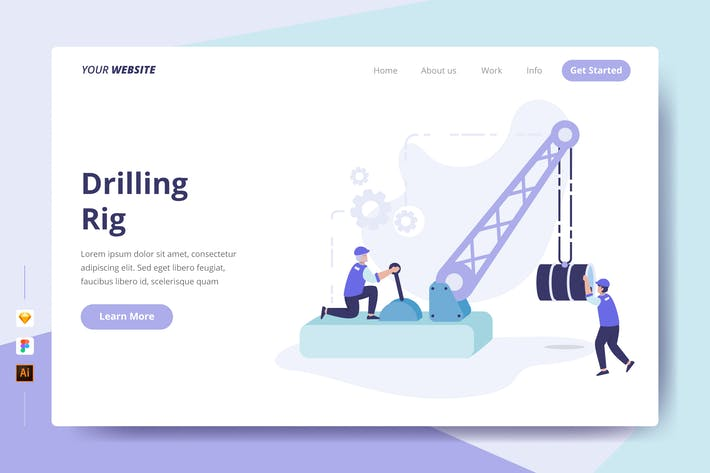 Thumbnail for Drilling Rig - Landing Page
