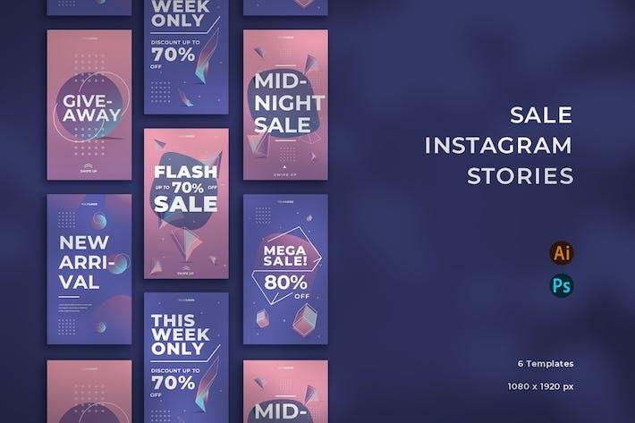 Thumbnail for Verkauf Instragram Geschichten