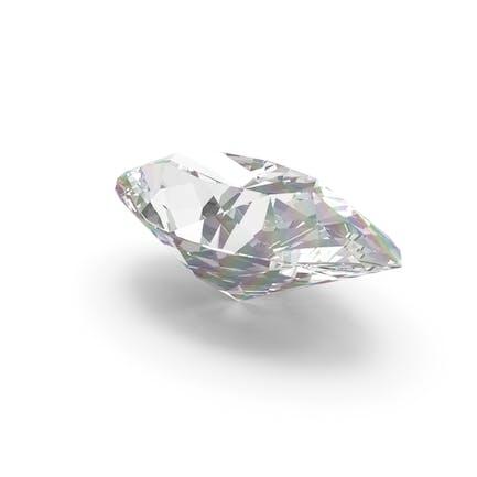 Diamant im Marquiseschliff