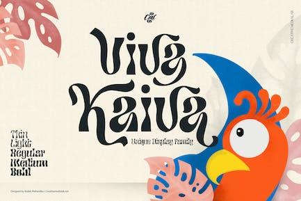 Viva Kaiva - Fuente psicodélica